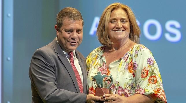 Arcos recibe el premio Solidario de la ONCE Castilla-La Mancha 2019 en la categoría de empresa