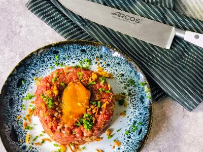KNIFE – MINCED TARTAR STEAK FUSION